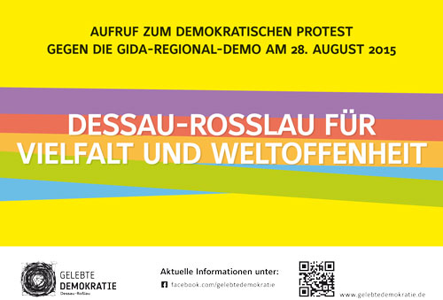 Kunterbunter Widerstand - Flyer